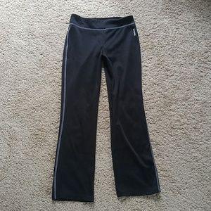 Girls Reebok fitness pants athletic running yoga